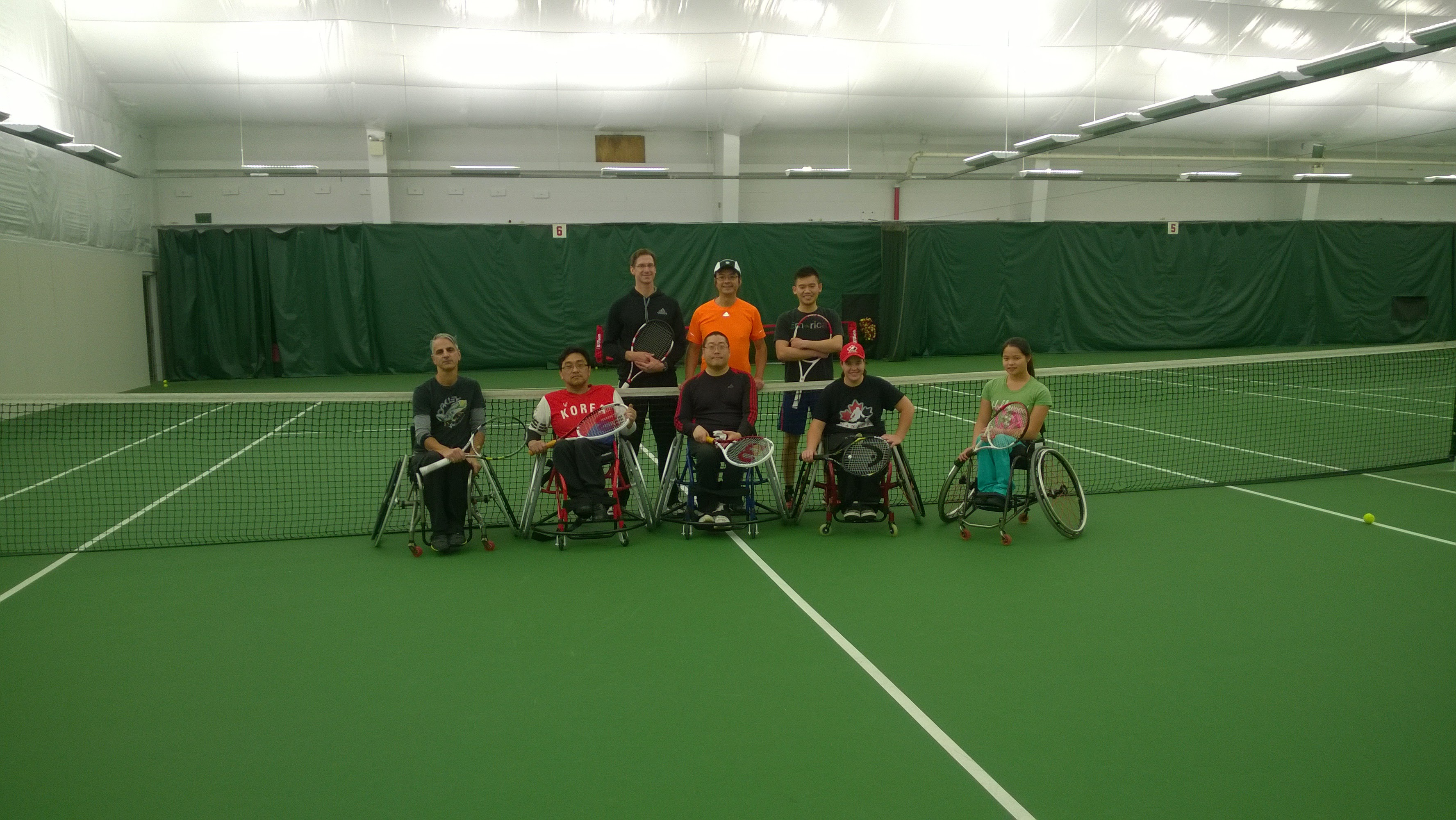 Adult Wheelchair Tennis (Fall 2014)