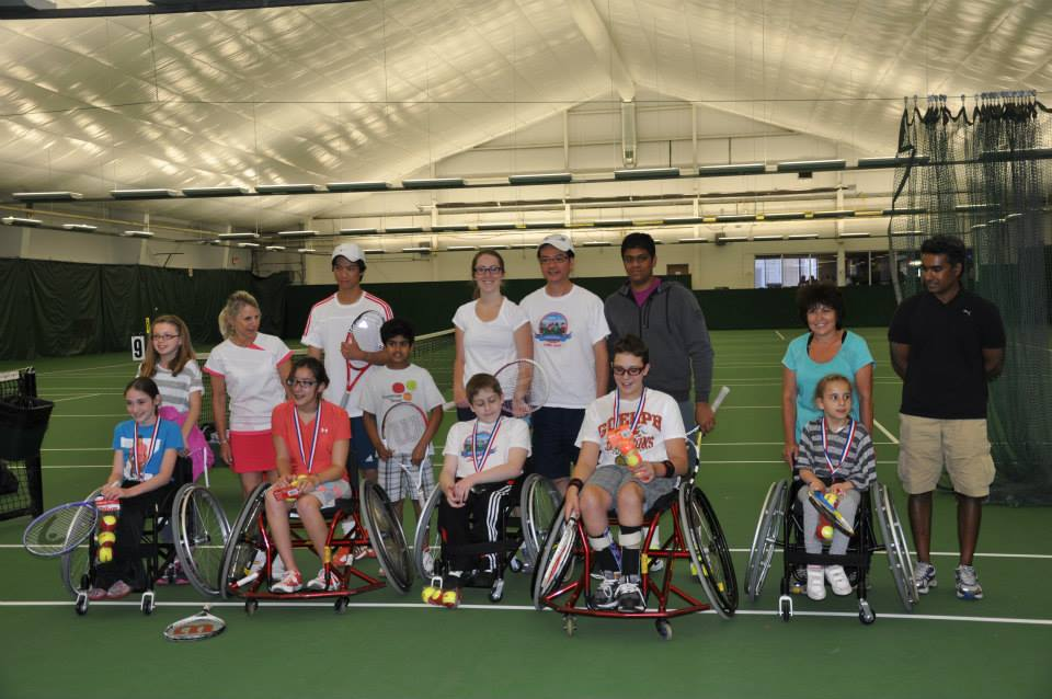 Little Aces Wheelchair Tennis (Spring 2013)