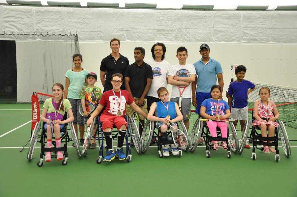 Little Aces Wheelchair Tennis (Spring 2014)