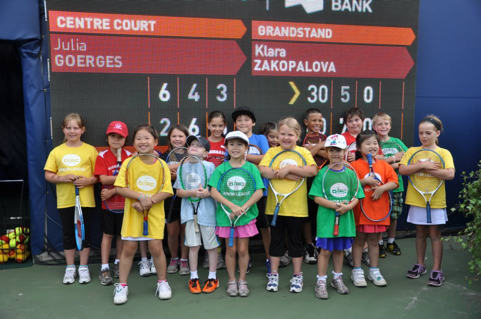 Mississauga Little Aces at 2013 Rogers Cup (Summer 2013)