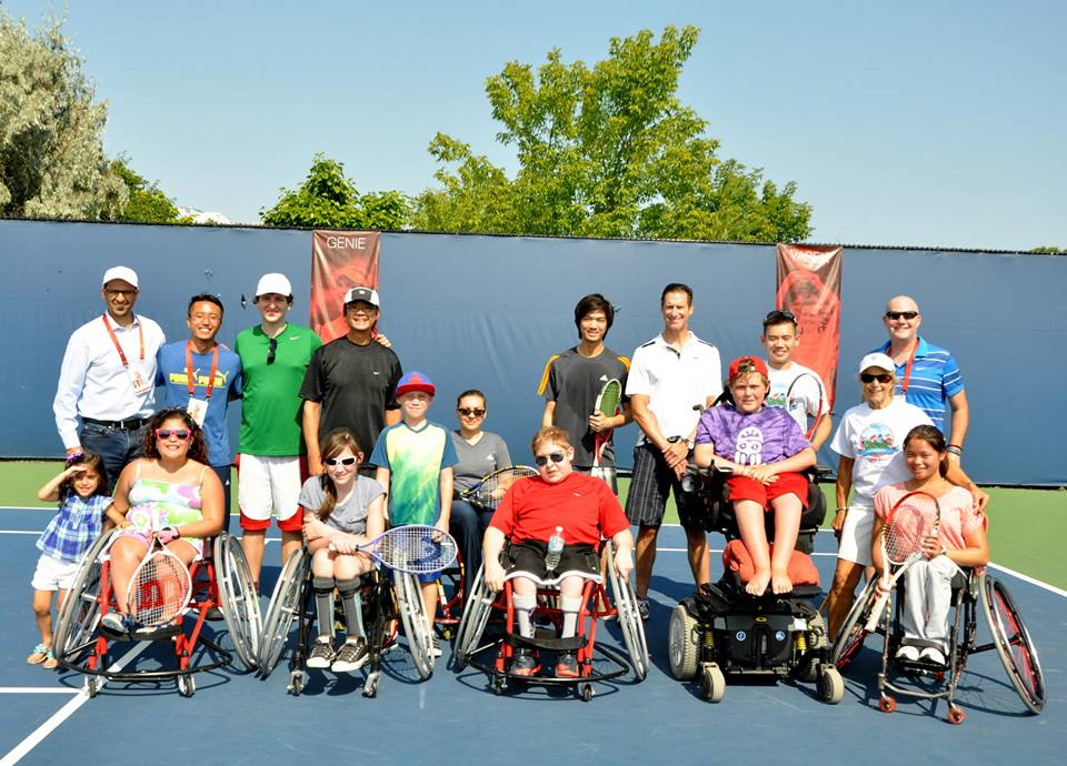 Little Aces Wheelchair Tennis Rogers Cup 2015 (Summer 2015)