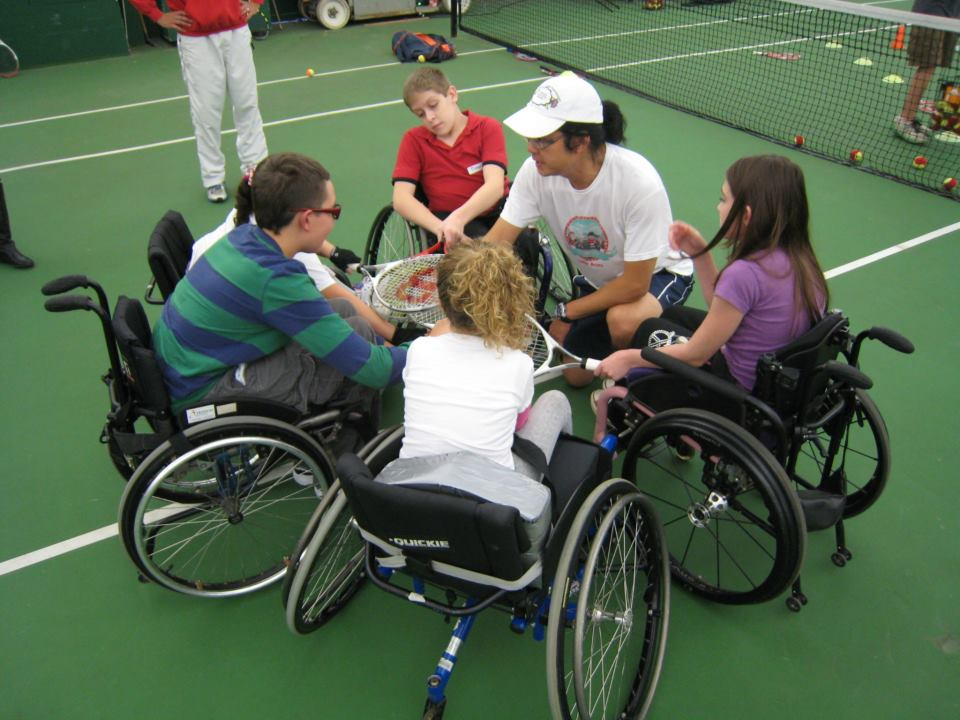 First Little Aces Wheelchair (Fall 2012)