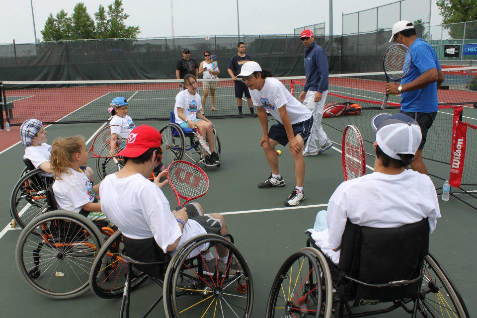 Little Aces Wheelchair Tennis Try-event, June 17, 2012