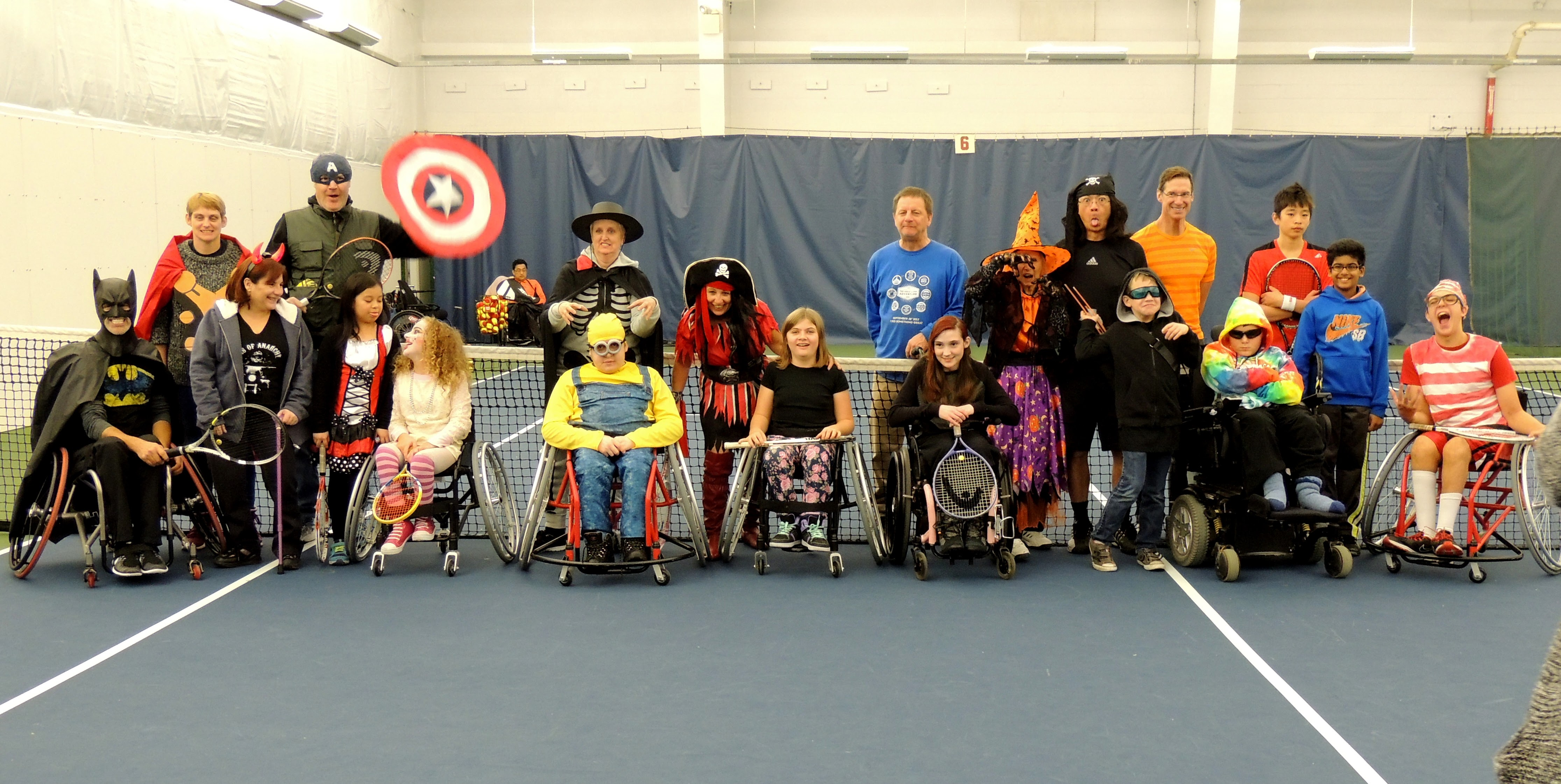 Little Aces Wheelchair Tennis Halloween (Fall 2015)